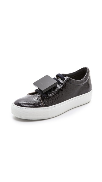 Acne Studios Adriana Crackled Sneakers
