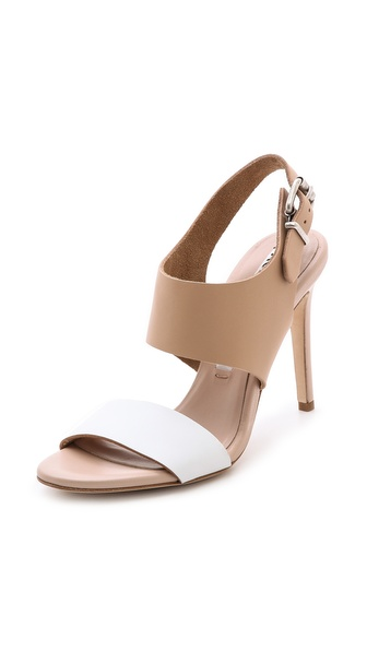 Acne Studios Tillie Sandals - Nude/White at Shopbop / East Dane