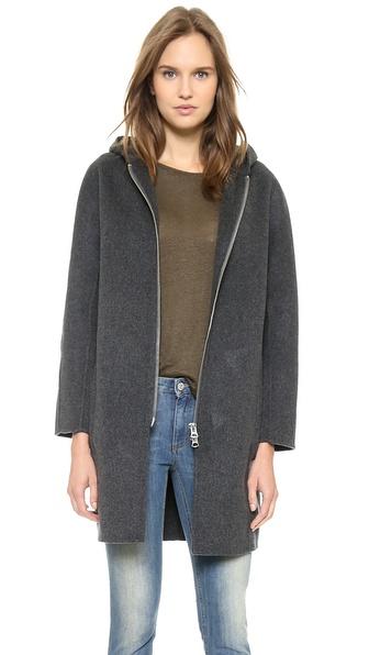 Acne Studios Emile Double Wool Coat