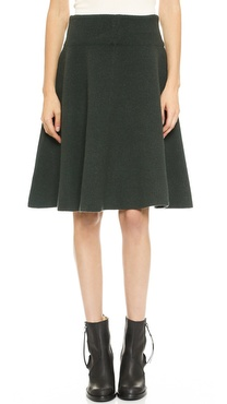Acne Studios Dancer Boiled Wool Skirt