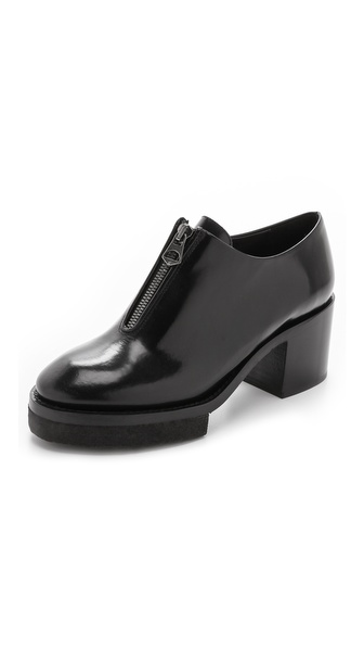 Acne Studios Mya Heeled Oxfords