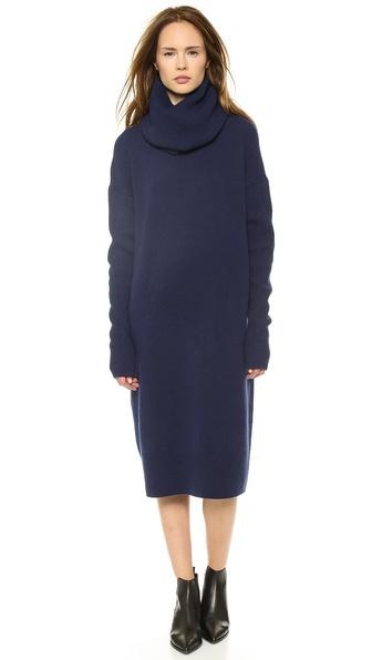 Acne Studios Dita L Wool Sweater Dress
