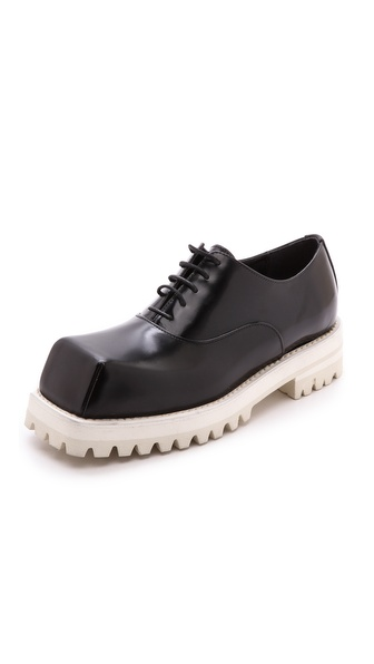 Acne Studios Quad Contrast Oxfords