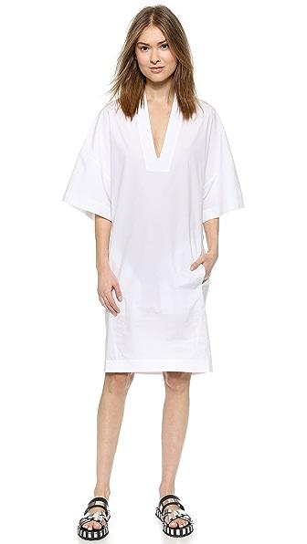 Studio S Studio S Cedar Tech Poplin Dress (White)