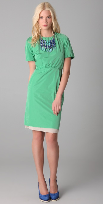 Acne Lucille Taffeta Dress