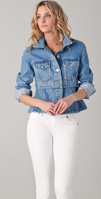 Acne Sally Denim Jacket