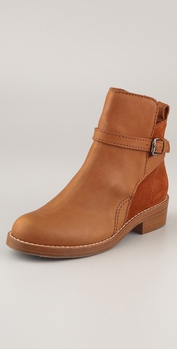 Acne Clover Wrap Strap Booties