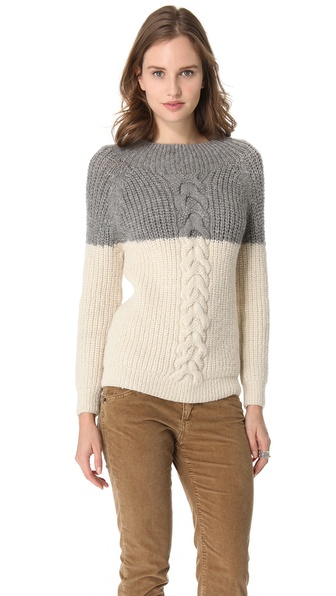 Acquaverde Colorblock Sweater