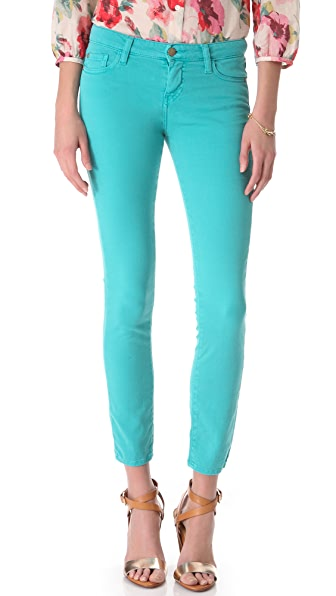 Acquaverde Scarlett Colored Skinny Jeans