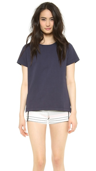 Acquaverde Crew Neck T-Shirt - Indigo at Shopbop / East Dane