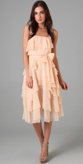 ADAM Ruffle Tank Dress