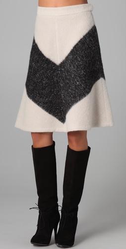 ADAM A Line Skirt