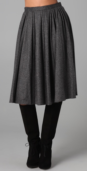 ADAM Pleated Skirt