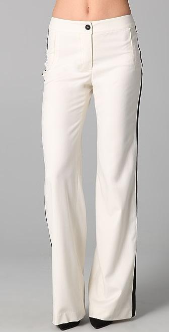 ADAM Wide Leg Tuxedo Pants