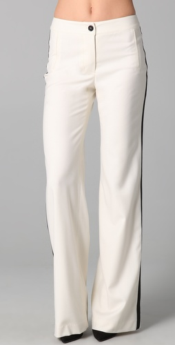 ADAM Wide Leg Tuxedo Pants