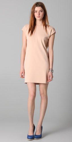ADAM Sheath Dress with Open Back