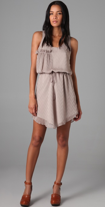 ADDISON V Weave Dress