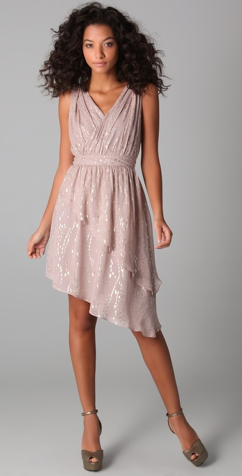 ADDISON Lurex Dress