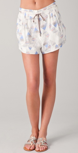 ADDISON Silk Jogger Shorts