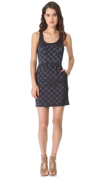 ADDISON Cutout Crisscross Dress