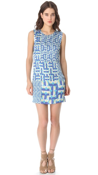 ADDISON Peek A Boo Shift Dress