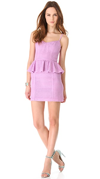 ADDISON Thompson Peplum Dress