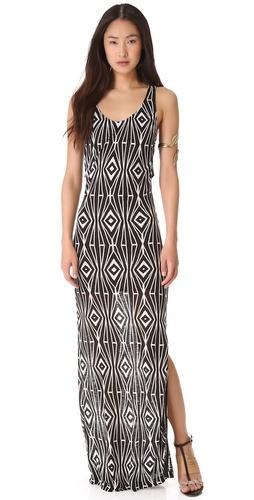 ADDISON Mara Layered Maxi Dress