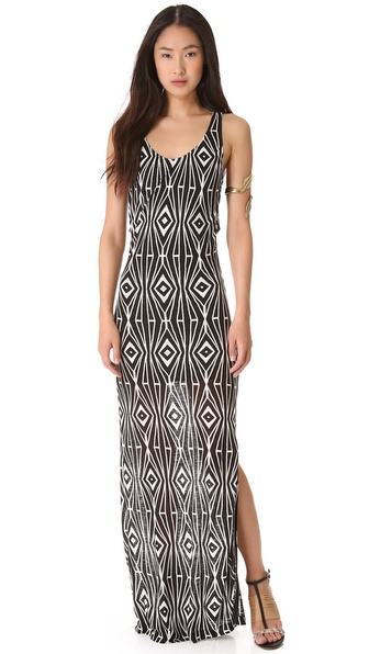 ADDISON Mara Layered Maxi Dress