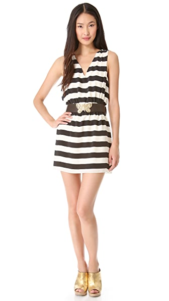 ADDISON Olvera Racer Back Dress