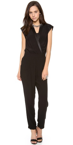 ADDISON Kate Wrap Jumpsuit