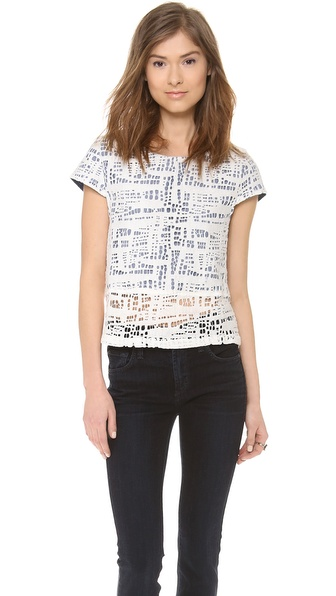 Addison Ada T-Shirt - White at Shopbop / East Dane