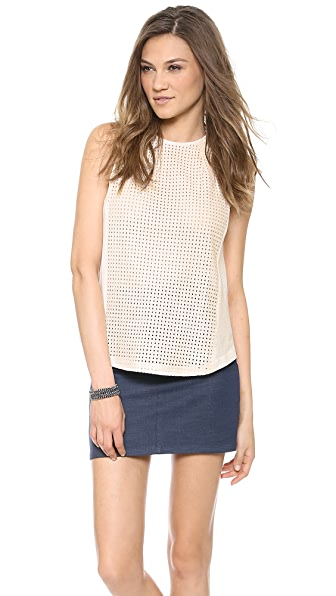 ADDISON Nova Darted Tunic