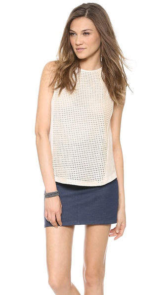 Addison Nova Darted Tunic - Antique White at Shopbop / East Dane