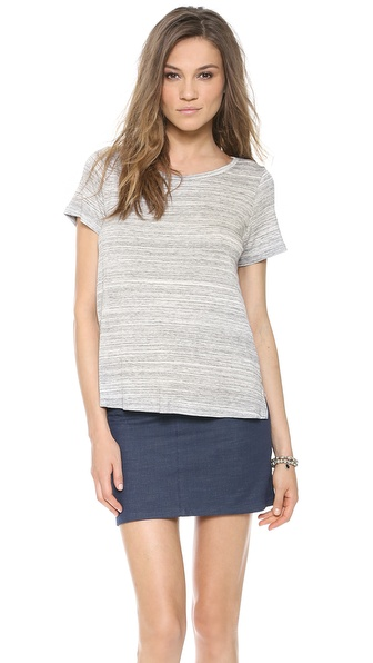 Addison Bly Racer Back Layered Top - Heather Grey at Shopbop / East Dane