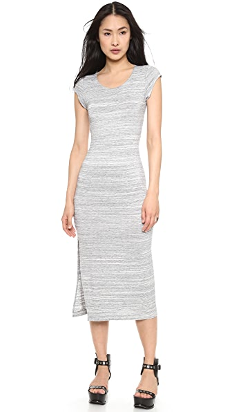 ADDISON Amelia Back Cutout T-Shirt Dress