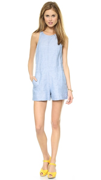 Addison Grove Romper - Sky at Shopbop / East Dane
