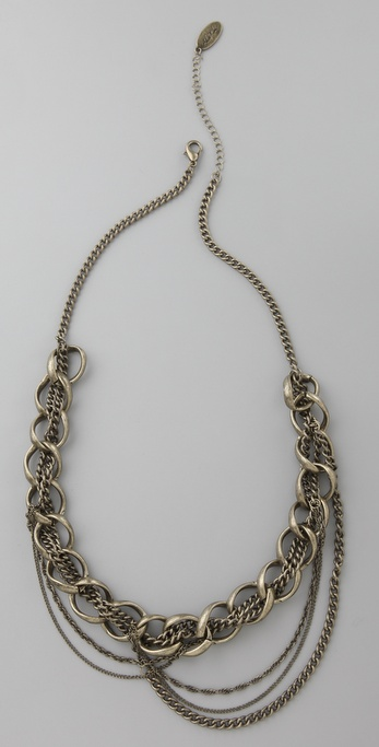 Adia Kibur Twisted Chain Necklace
