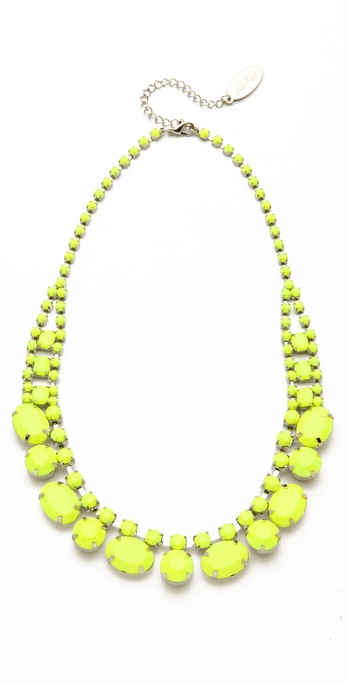Adia Kibur Short Neon Stone Necklace