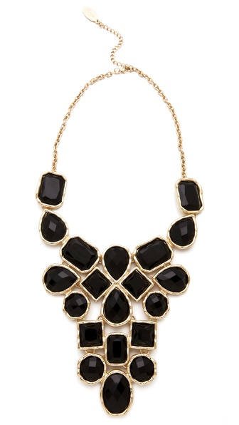 Bib Necklace | SHOPBOP :  necklace shopbop black statement