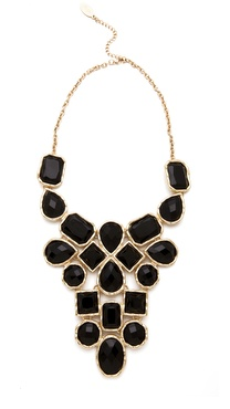 Adia Kibur Stone Bib Necklace
