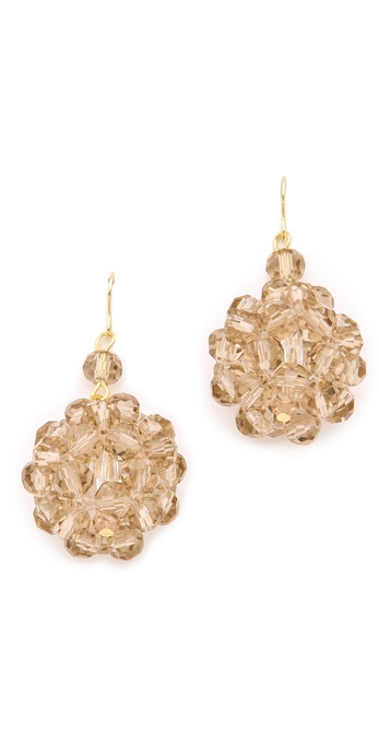 Adia Kibur Beaded Cluster Earrings