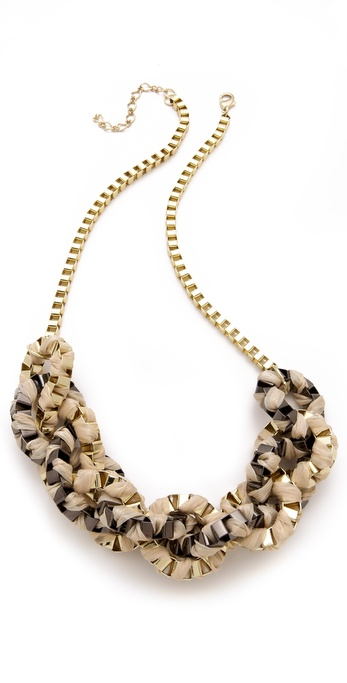 Adia Kibur Box Chain Link Necklace
