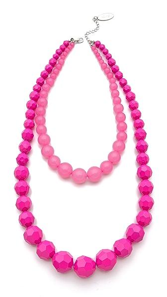 Adia Kibur Layered Beads Necklace