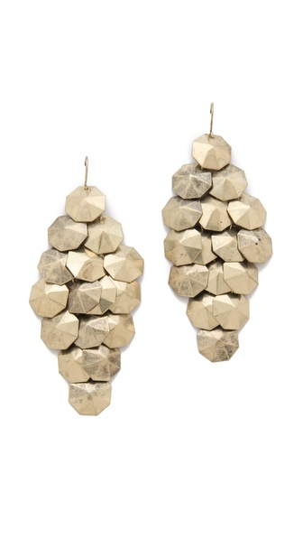 Adia Kibur Disc Chandelier Earrings