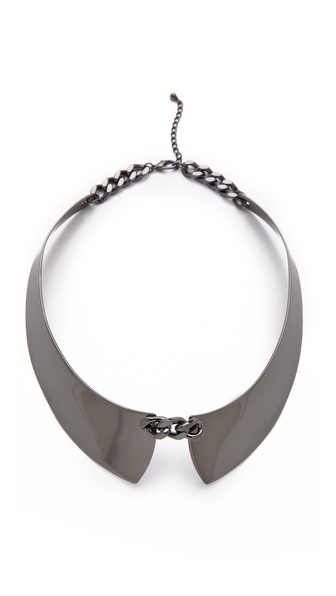 Adia Kibur Hematite Collar