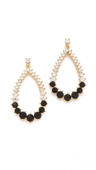 Adia Kibur Stone Teardrop Earrings