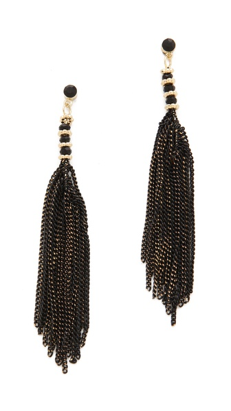 Adia Kibur Chain Dangle Earrings