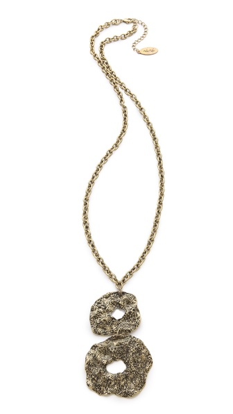 Adia Kibur Hammered Link Necklace