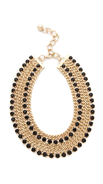 Adia Kibur Crystal Encrusted Collar