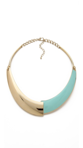 Adia Kibur Gold & Enamel Collar